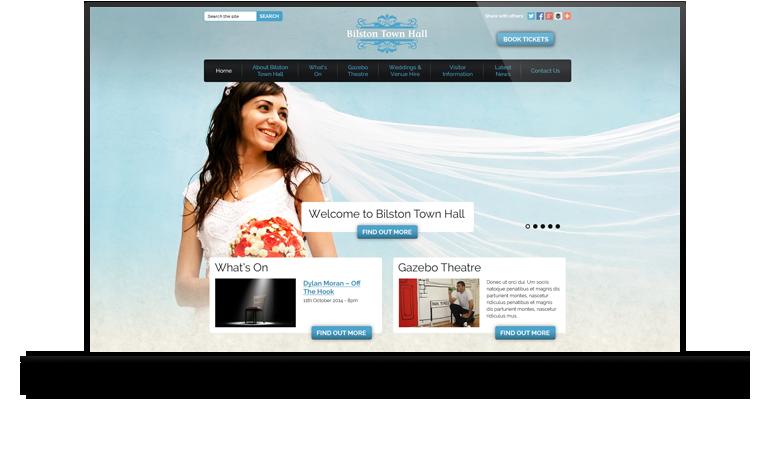 Example Website Design.