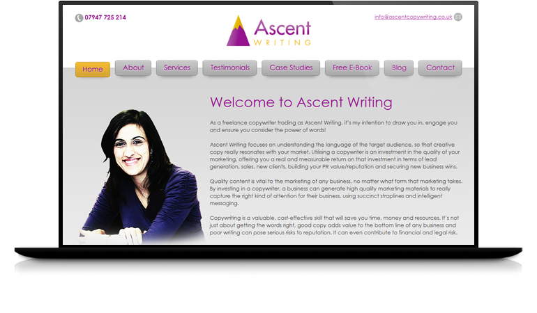 Ascent Writing - Our Clients | Darren Langley