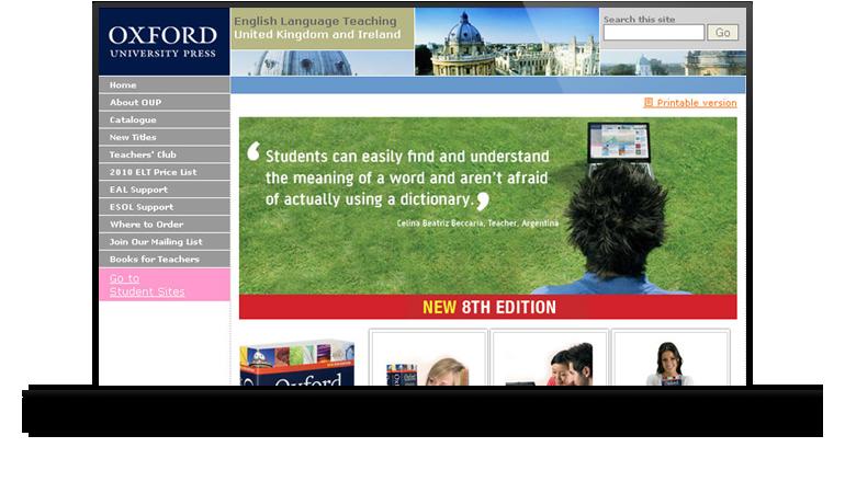 Oxford University Press - Darren Langley | Web Design Birmingham